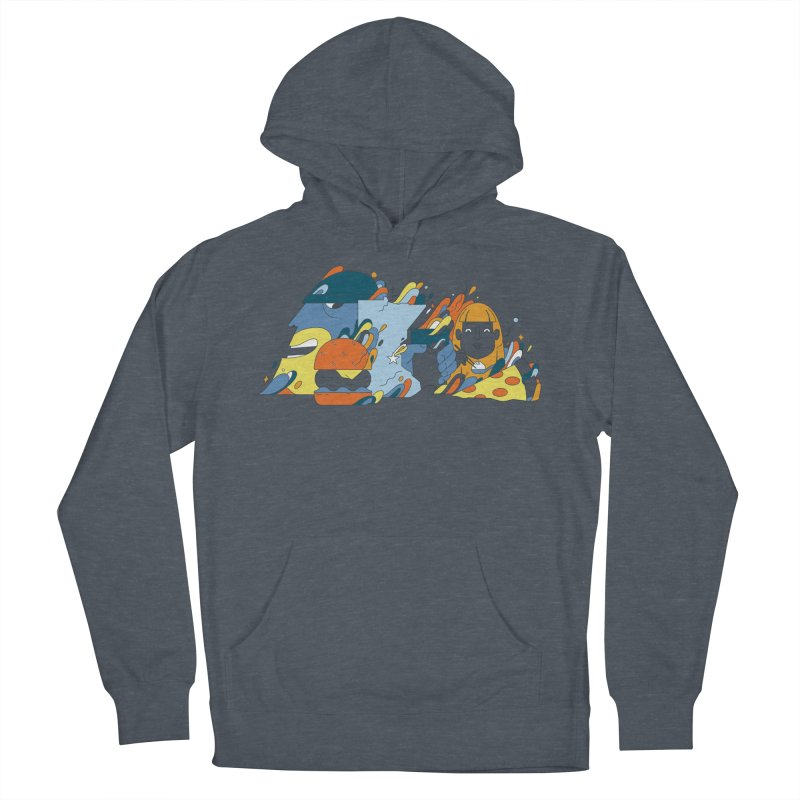 Color Me Impressed (Apparel) Men's French Terry Pullover Hoody by bellyup's Artist Shop