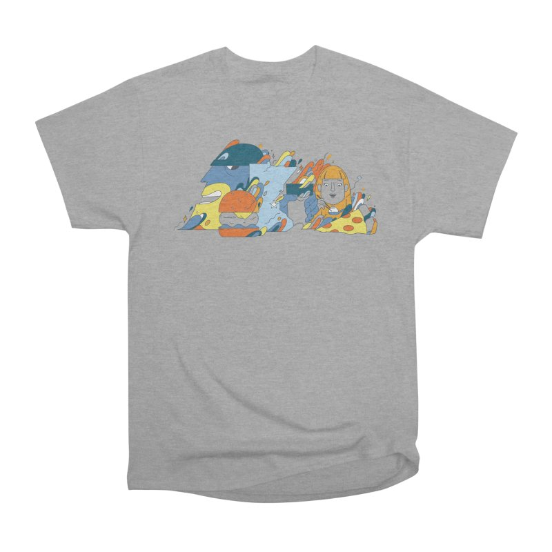Color Me Impressed (Apparel) Women's Heavyweight Unisex T-Shirt by bellyup's Artist Shop