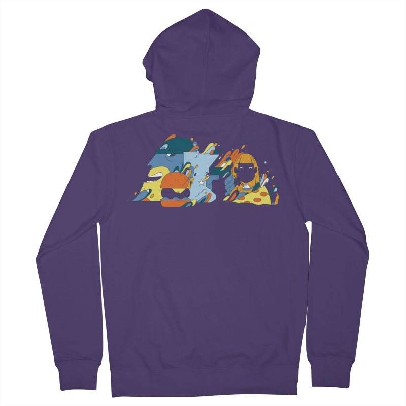 Color Me Impressed (Apparel) Women's Zip-Up Hoody by bellyup's Artist Shop