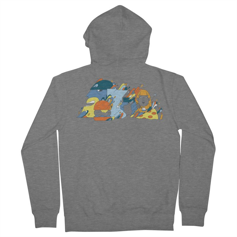 Color Me Impressed (Apparel) Men's French Terry Zip-Up Hoody by bellyup's Artist Shop