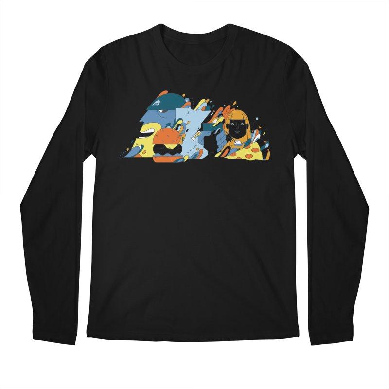 Color Me Impressed (Apparel) Men's Regular Longsleeve T-Shirt by bellyup's Artist Shop
