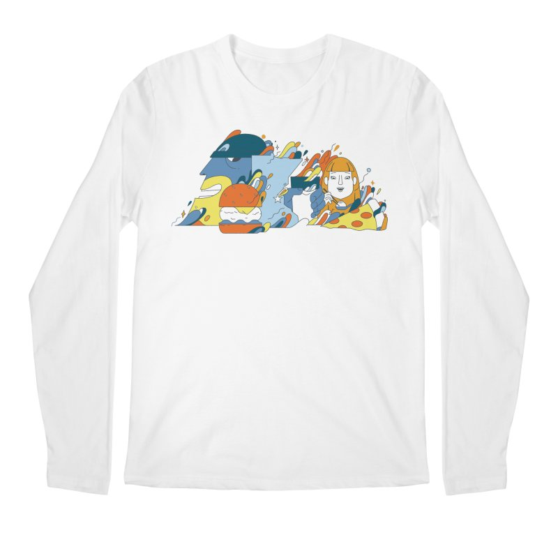 Color Me Impressed (Apparel) Men's Regular Longsleeve T-Shirt by bellyup's Artist Shop