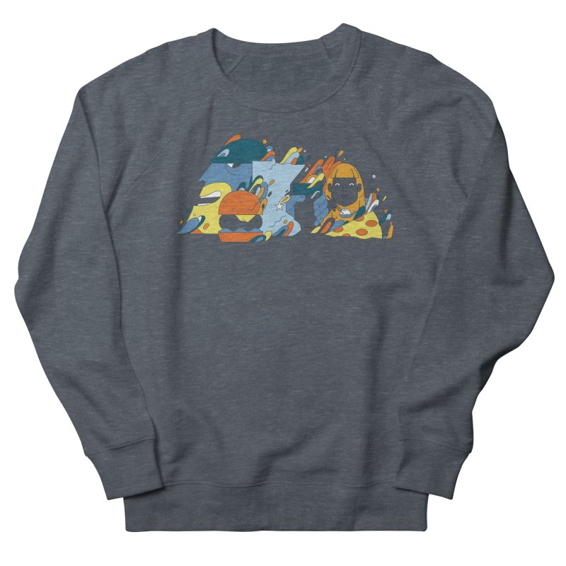 Color Me Impressed (Apparel) Men's French Terry Sweatshirt by bellyup's Artist Shop