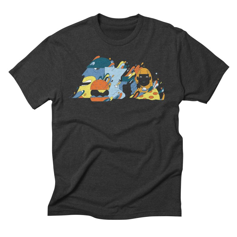 Color Me Impressed (Apparel) Men's Triblend T-Shirt by bellyup's Artist Shop