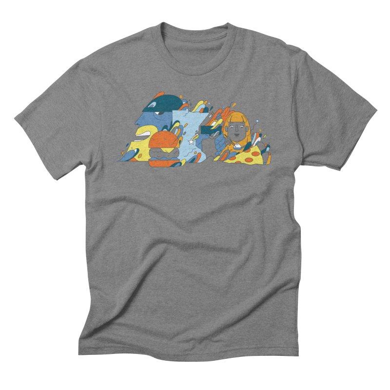 Color Me Impressed (Apparel) Men's Triblend T-Shirt by bellyup's Artist Shop