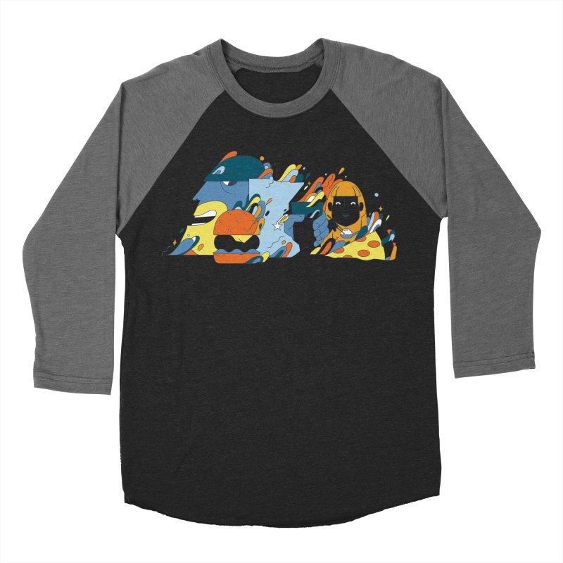 Color Me Impressed (Apparel) Women's Baseball Triblend Longsleeve T-Shirt by bellyup's Artist Shop
