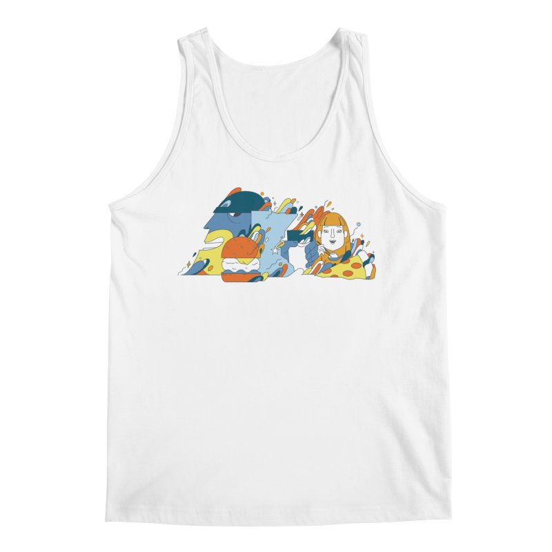 Color Me Impressed (Apparel) Men's Regular Tank by bellyup's Artist Shop
