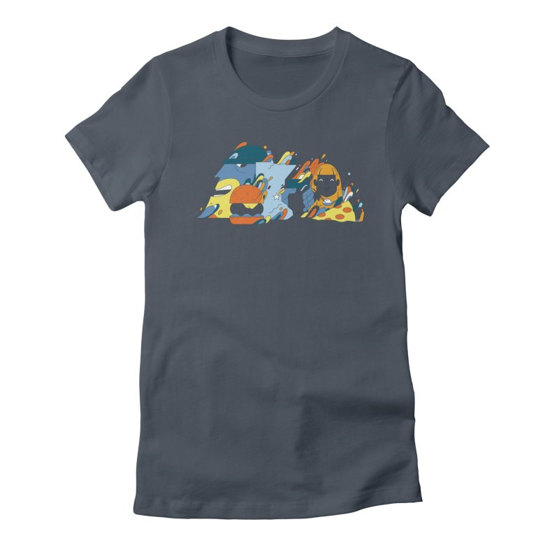 Color Me Impressed (Apparel) Women's T-Shirt by bellyup's Artist Shop
