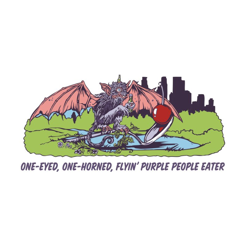 Flyin' Purple People Eater (Apparel) by bellyup's Artist Shop