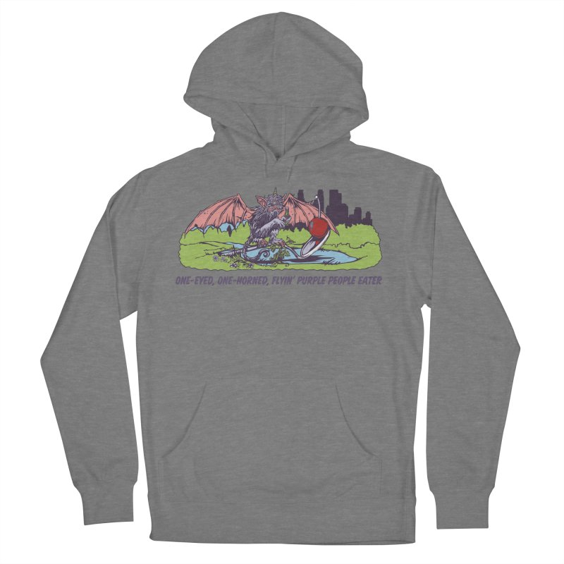 Flyin' Purple People Eater (Apparel) Women's Pullover Hoody by bellyup's Artist Shop