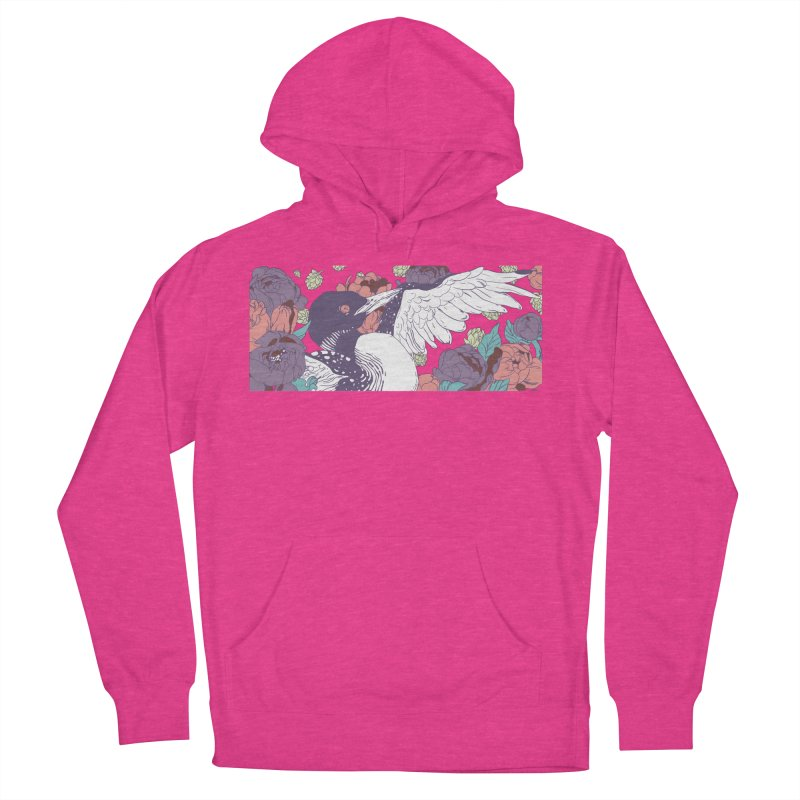 Hoppy Loon (Apparel) Women's French Terry Pullover Hoody by bellyup's Artist Shop