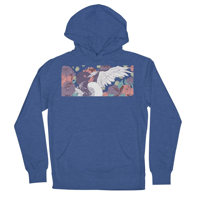 Hoppy Loon (Apparel) Men's French Terry Pullover Hoody by bellyup's Artist Shop
