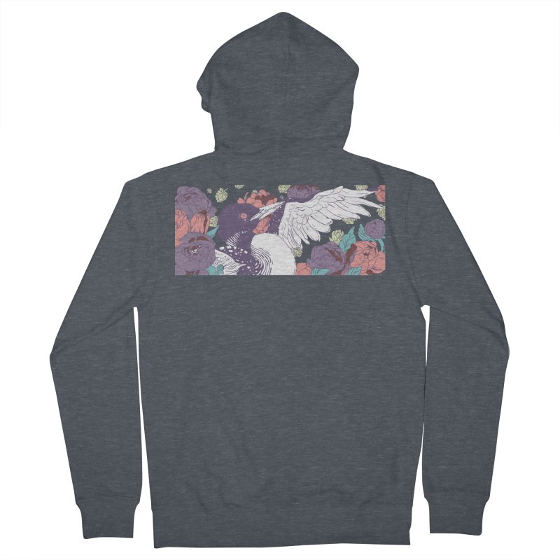 Hoppy Loon (Apparel) Women's French Terry Zip-Up Hoody by bellyup's Artist Shop