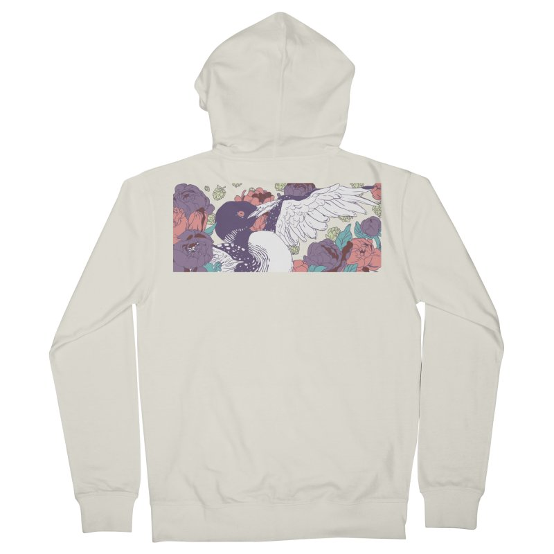 Hoppy Loon (Apparel) Men's French Terry Zip-Up Hoody by bellyup's Artist Shop