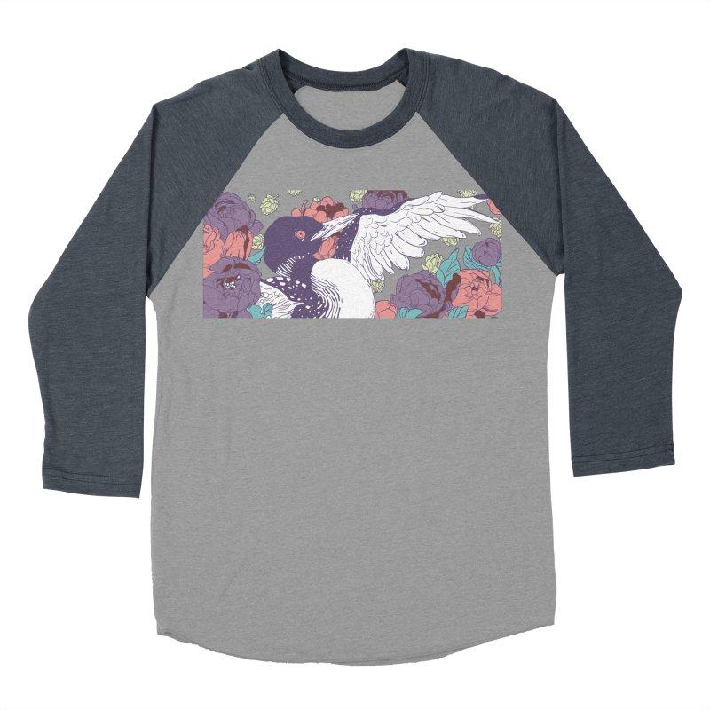 Hoppy Loon (Apparel) Men's Baseball Triblend Longsleeve T-Shirt by bellyup's Artist Shop