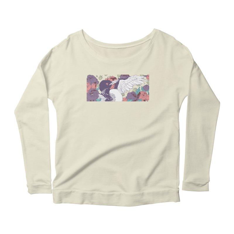 Hoppy Loon (Apparel) Women's Scoop Neck Longsleeve T-Shirt by bellyup's Artist Shop