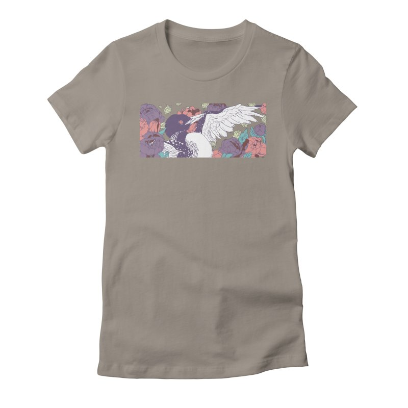 Hoppy Loon (Apparel) Women's Fitted T-Shirt by bellyup's Artist Shop