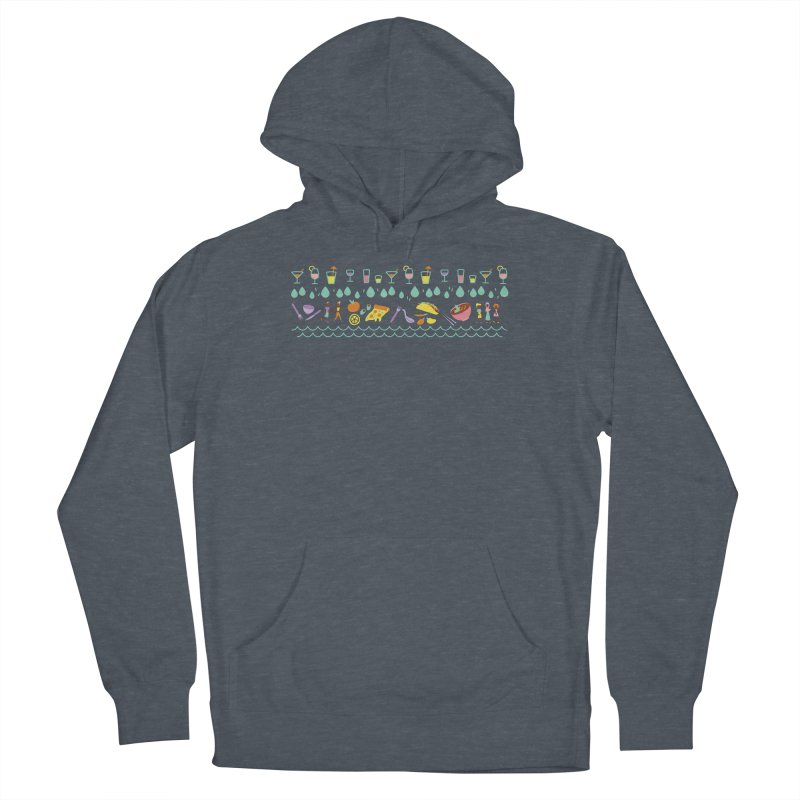 Caribe Del Norte (Apparel) Men's Pullover Hoody by bellyup's Artist Shop