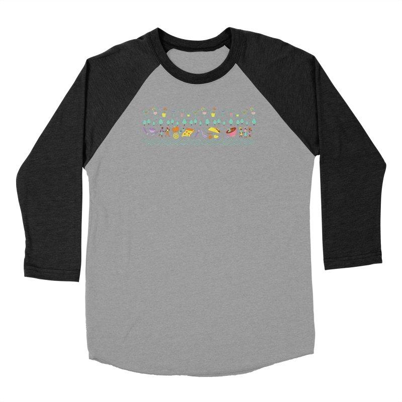 Caribe Del Norte (Apparel) Women's Baseball Triblend Longsleeve T-Shirt by bellyup's Artist Shop