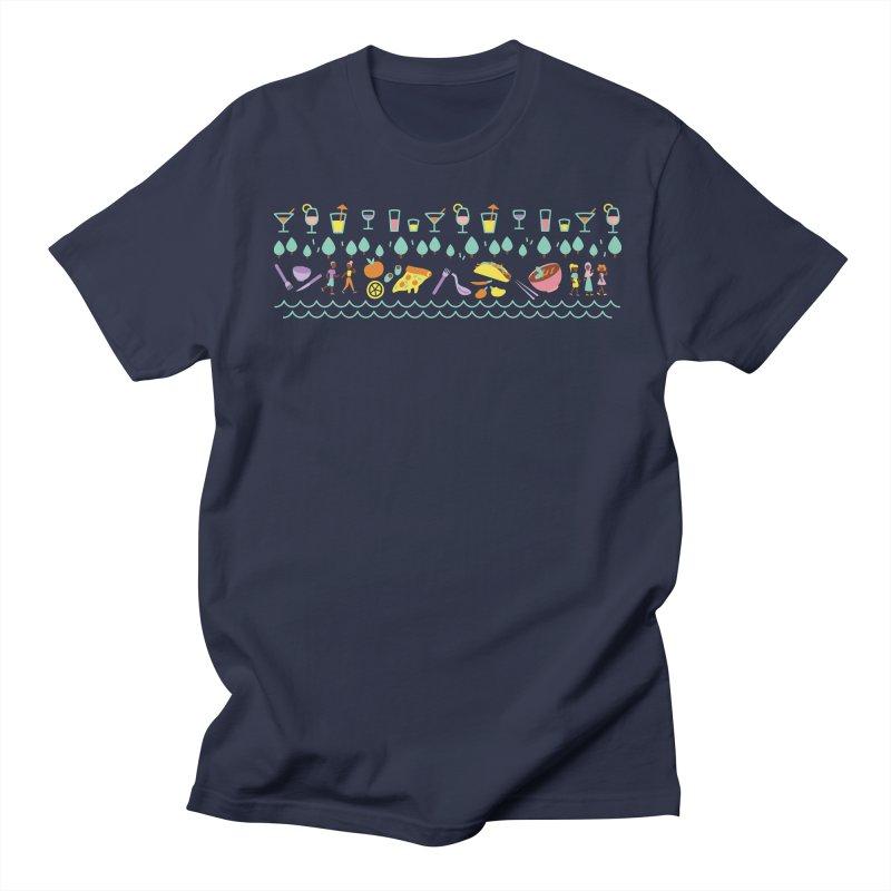 Caribe Del Norte (Apparel) Men's T-Shirt by bellyup's Artist Shop