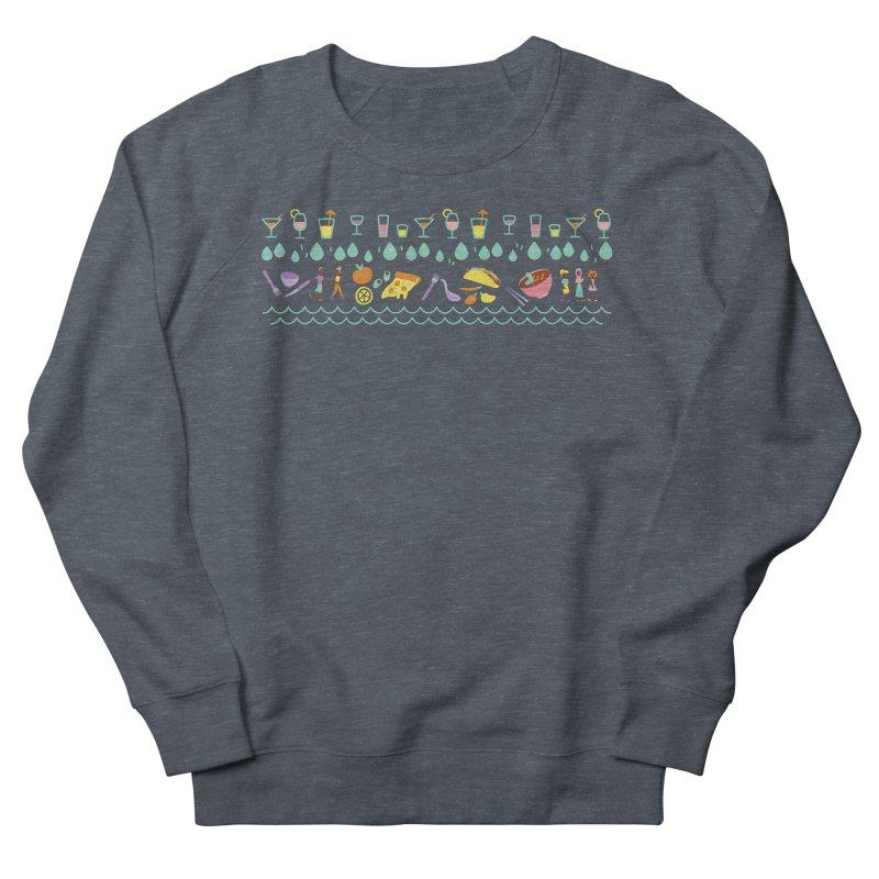 Caribe Del Norte (Apparel) Women's French Terry Sweatshirt by bellyup's Artist Shop