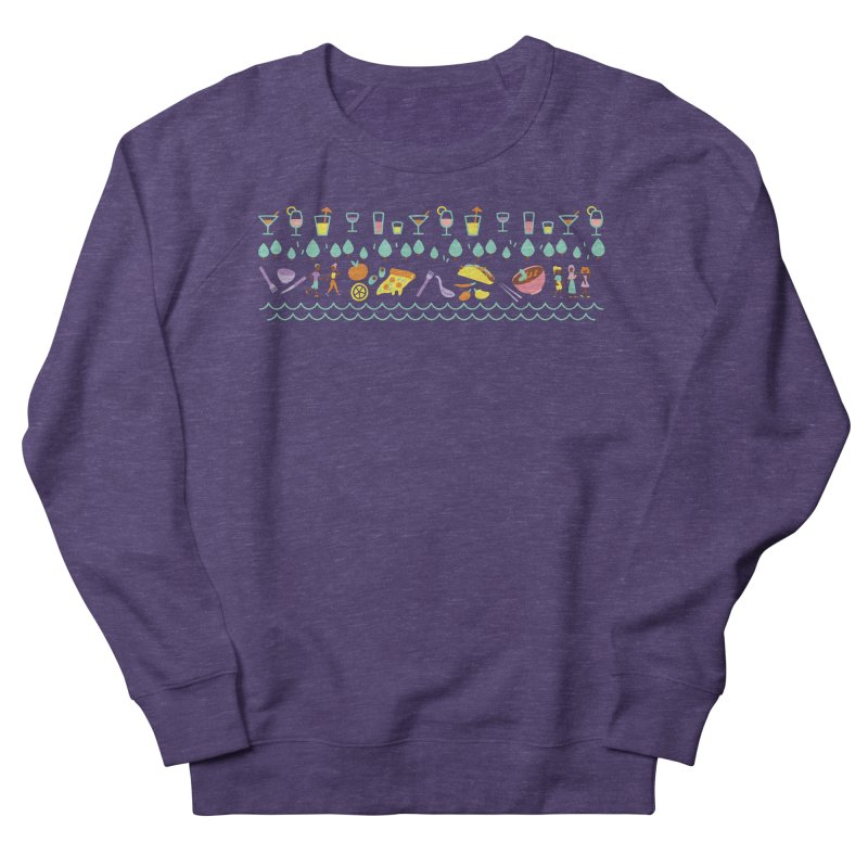 Caribe Del Norte (Apparel) Men's French Terry Sweatshirt by bellyup's Artist Shop