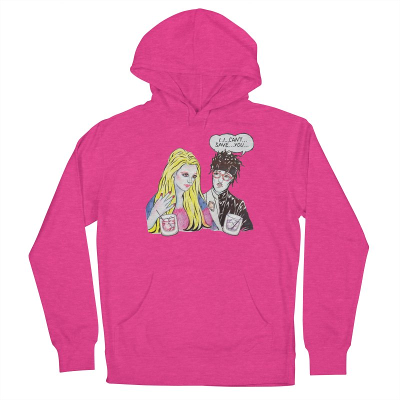 I Can't Save You, Britney (Apparel) Women's French Terry Pullover Hoody by bellyup's Artist Shop