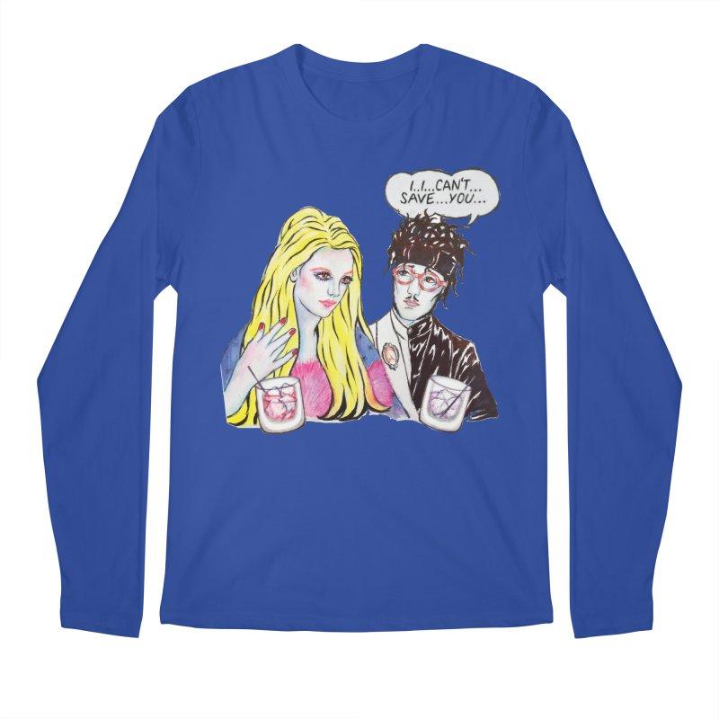 I Can't Save You, Britney (Apparel) Men's Regular Longsleeve T-Shirt by bellyup's Artist Shop