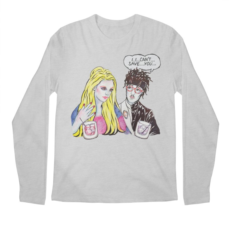 I Can't Save You, Britney (Apparel) Men's Regular Longsleeve T-Shirt by bellyup's Artist Shop
