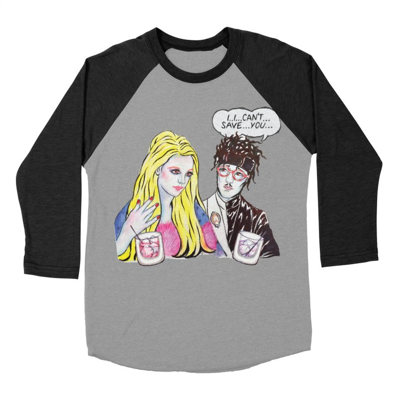 I Can't Save You, Britney (Apparel) Men's Baseball Triblend Longsleeve T-Shirt by bellyup's Artist Shop