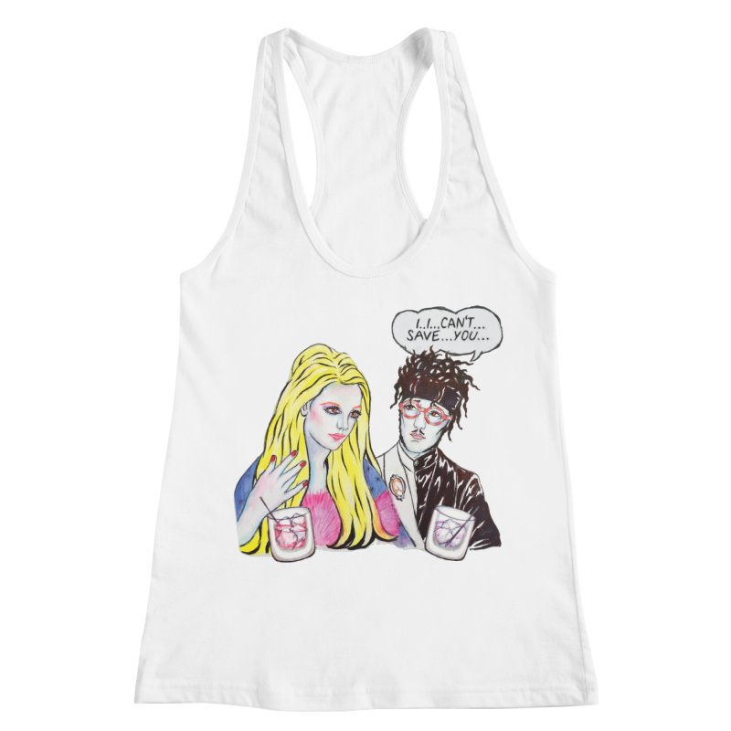 I Can't Save You, Britney (Apparel) Women's Racerback Tank by bellyup's Artist Shop