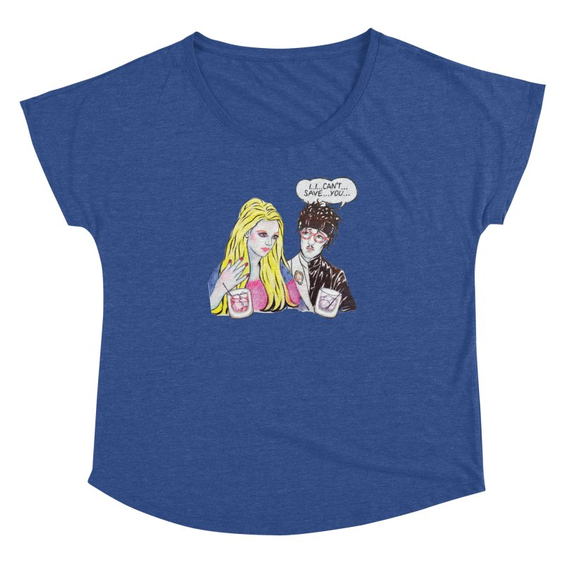 I Can't Save You, Britney (Apparel) Women's Dolman Scoop Neck by bellyup's Artist Shop