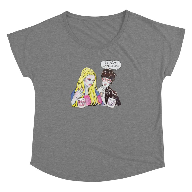 I Can't Save You, Britney (Apparel) Women's Scoop Neck by bellyup's Artist Shop