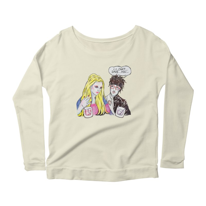 I Can't Save You, Britney (Apparel) Women's Scoop Neck Longsleeve T-Shirt by bellyup's Artist Shop