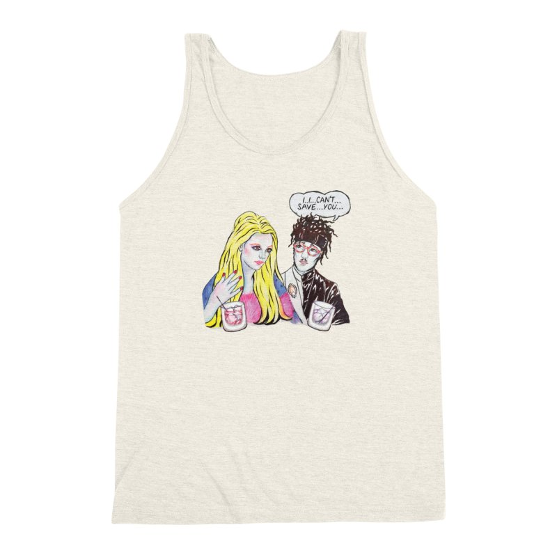 I Can't Save You, Britney (Apparel) Men's Triblend Tank by bellyup's Artist Shop