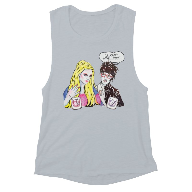 I Can't Save You, Britney (Apparel) Women's Muscle Tank by bellyup's Artist Shop