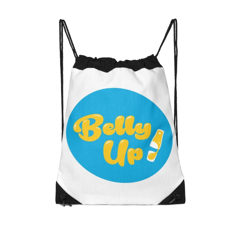 Bellyup..New Accessories Drawstring Bag Bag by bellyup's Artist Shop