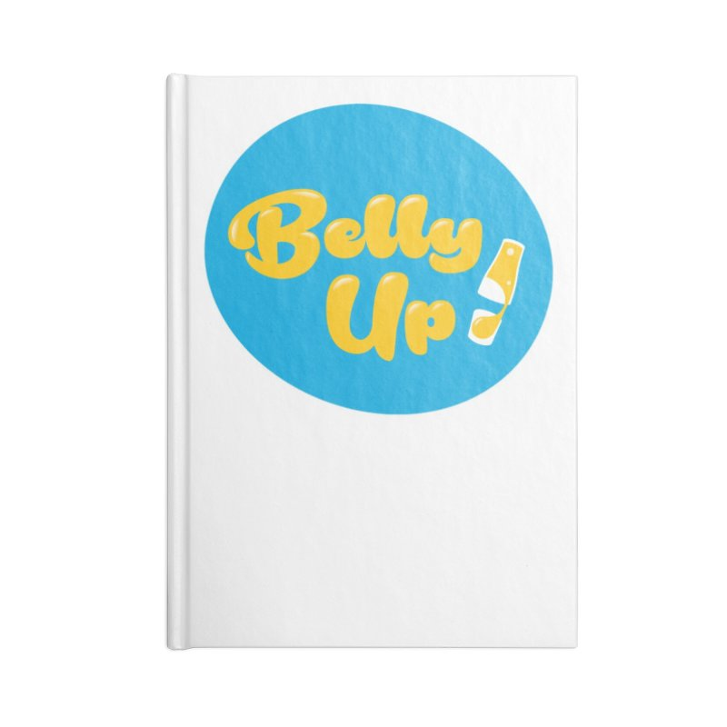 Bellyup..New Accessories Lined Journal Notebook by bellyup's Artist Shop