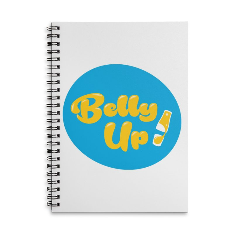 Bellyup..New Accessories Lined Spiral Notebook by bellyup's Artist Shop