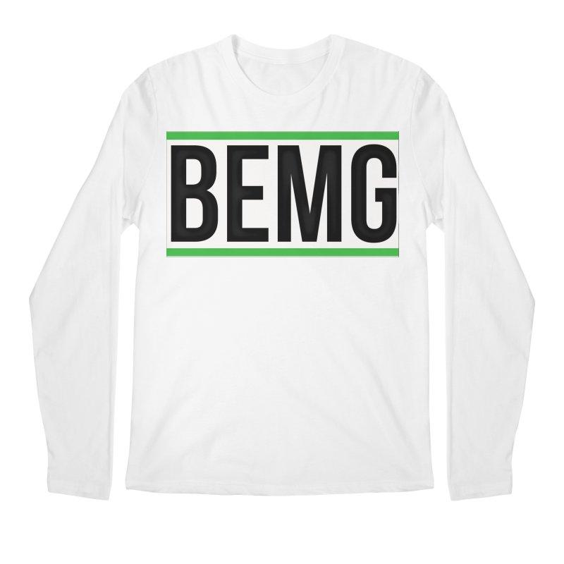 BEMG Basics Men's Regular Longsleeve T-Shirt by The B.E.M.G. COLLECTION