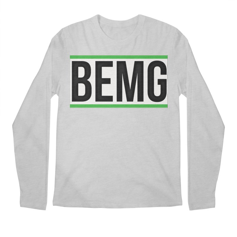 BEMG Basics Men's Regular Longsleeve T-Shirt by The B.E.M.G. COLLECTION