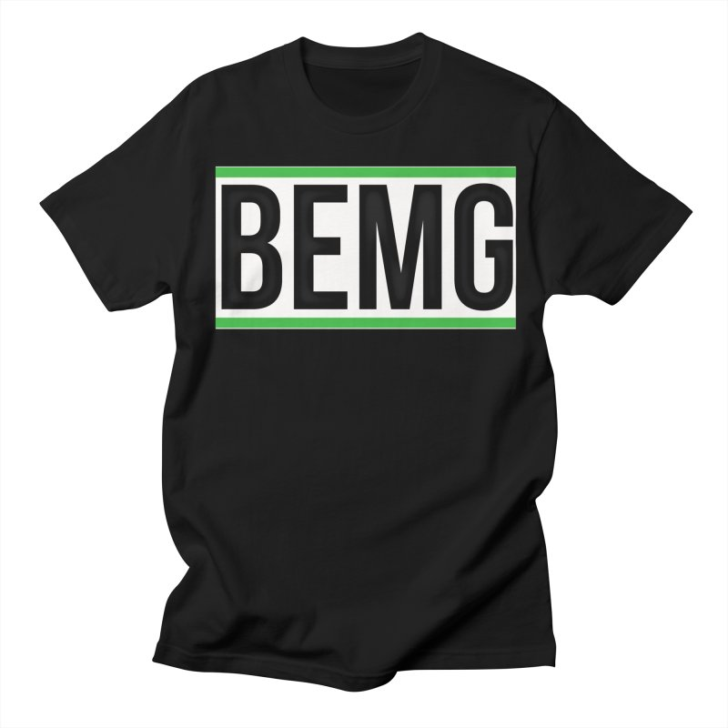 BEMG Basics Men's T-Shirt by The B.E.M.G. COLLECTION