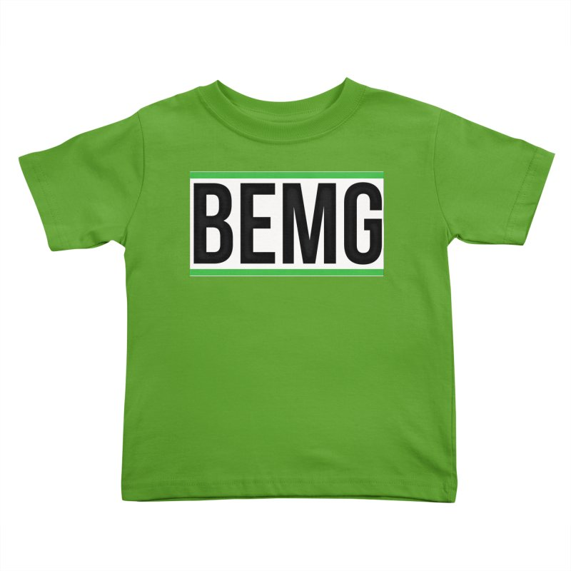 BEMG Basics Kids Toddler T-Shirt by The B.E.M.G. COLLECTION