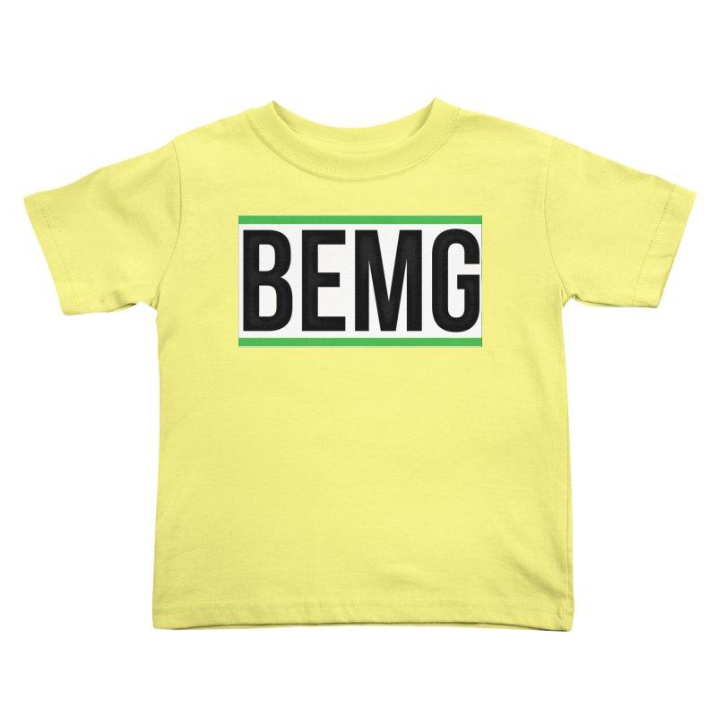 BEMG Basics Kids Toddler T-Shirt by The B.E.M.G. COLLECTION