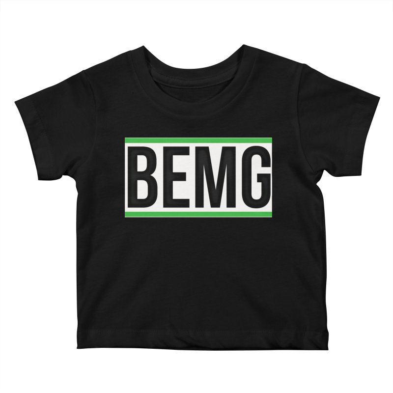 BEMG Basics Kids Baby T-Shirt by The B.E.M.G. COLLECTION