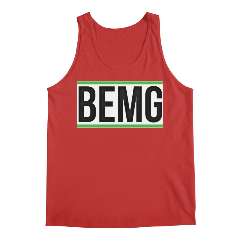 BEMG Basics Men's Regular Tank by The B.E.M.G. COLLECTION