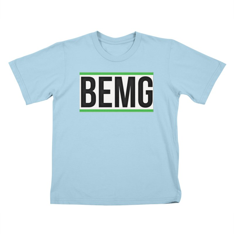BEMG Basics Kids T-Shirt by The B.E.M.G. COLLECTION