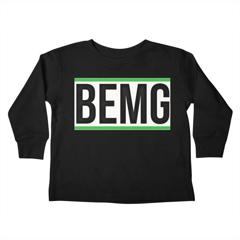 BEMG Basics Kids Toddler Longsleeve T-Shirt by The B.E.M.G. COLLECTION