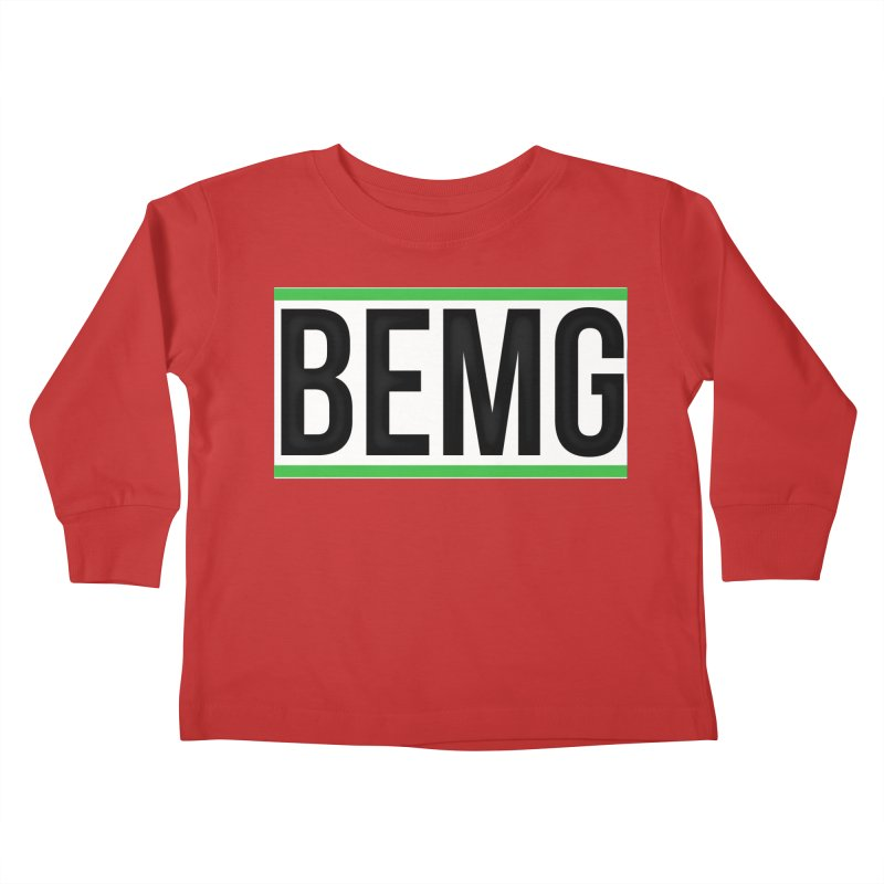 BEMG Basics Kids Toddler Longsleeve T-Shirt by The B.E.M.G. COLLECTION