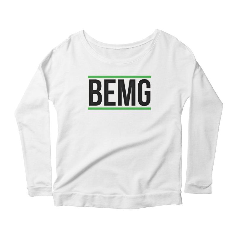 BEMG Basics Women's Scoop Neck Longsleeve T-Shirt by The B.E.M.G. COLLECTION
